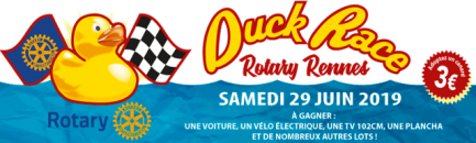 DUCK RACE ROTARY RENNES